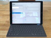 Apple 12.9in Space Grey iPad Pro 128GB Wi Fi Plus 4G