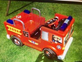 Childrens Electric Fireman Sam Ride on