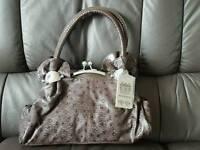 New, Stylish, brown handbag.