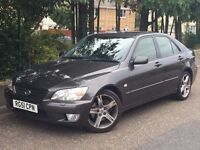 2002 LEXUS IS200 SE , 2.0, EXCELLENT SERVICE HISTORY, RECENT TIMING BELT, NEW MOT & DRIVES GREAT.