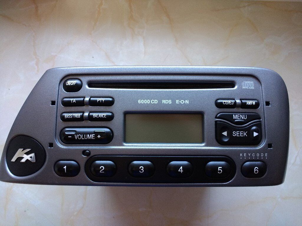 Ford Ka Stereo Cd