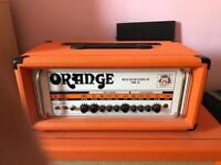 Orange rockerverb mark 2 50 watt head