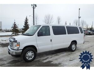 2014 Ford E-350 XLT 15 Passenger - RWD, Anti-Theft, 53,012 KMs
