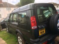 Land Rover discovery v8 in lovely condition with 4 months mot