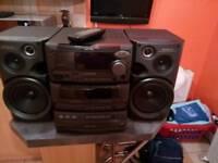Kenwood compact hi - fi system xd 500 model