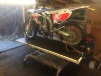 Motorbike Lift Table