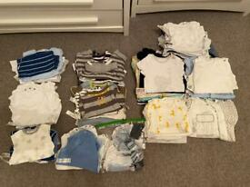 Baby clothes bundle - first size through to 3 months