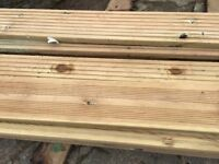Good quality pine deck board 28*140*4.8m