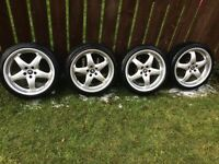"17"" Antera alloy wheels"