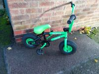 mini monster rocker mini bmx bike