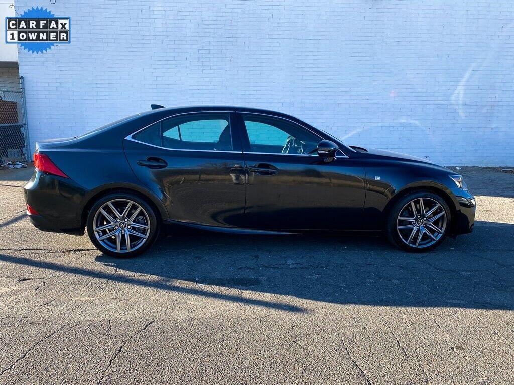 2017 Lexus IS 300 4D Sedan 3.5L V6 DOHC Dual VVT-i 24V 6-Speed Automatic Electro
