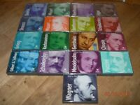 FAVOURITES FROM THE CLASSICS READER'S DIGEST 17 CDS CLASSICAL MUSIC