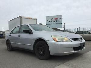 2004 Honda Accord DX sedan AT **LOW MILEAGE**