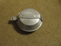 Lightweight Aluminium Pans/Plate/Mug (Trangia)