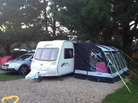 Kampa Rally Pro 390 Caravan Awning & Accessories