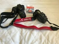 2 Canon Camera's meeting requirements for College