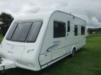 FOUR BIRTH 2009 COMPASS OMEGA 544 TOURING CARAVAN. EXCELLENT CONDITION.EXTRAS.ALL READY TO GO !!!!!
