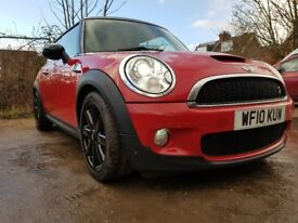 MINI Hatch 1.6 Cooper S 3dr Chilli Red, JCW Exhaust, heated seats