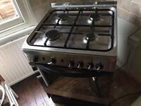 Indesit Gas oven and Gas Hob