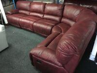 New/Ex Display Extra Large Guvnor Recliner Corner Group Sofa (Left or Right Corner)