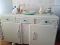Antique Art Deco Sideboard Upcycled £100