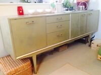 Retro gold nathan quality sideboard
