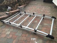 Rhino Aluminium Roof Rack for Citroen Nemo Van