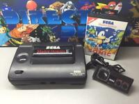 Sega Master System all leads and controller