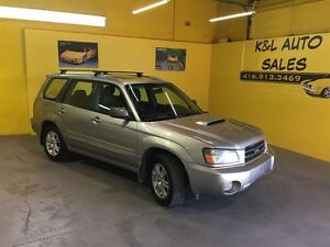 2005 Subaru Forester XT ~ TURBO ~ LEATHER ~ SUNROOF ~ CERTIFIED