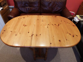Solid Pine Drop-Leaf Table