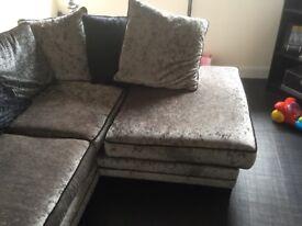 Corner sofa from d f s