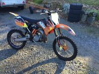 KTM SX 85 2012 Big Wheel (with extra plastics, exhaust pipe and silencer.) Aboyne, Aberdeenshire
