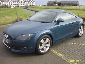 Audi TT 2.0 TFSi coupe, very low miles, full service history