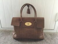 Mulberry Bayswater handbag in brown.