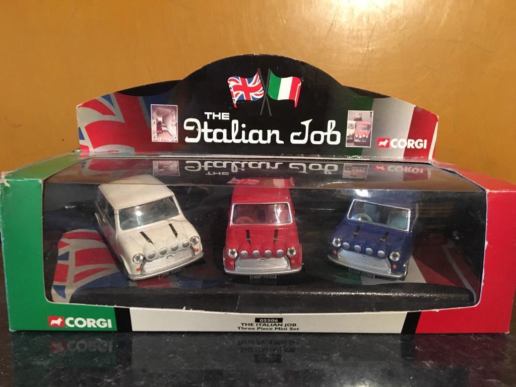 Corgi diecast Italian job mini coopersin Sunderland, Tyne and WearGumtree - Corgi diecast Italian job mini coopers in original box collectors vgc 1 36 scale