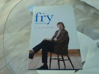 STEPHEN FRY AUTOBIOGRAPHY - HARDBACK BOOK. £3