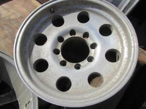 4---17 in Pollished Alloys---8 x 165.1mm---Dodge/Chevy/Older Fords