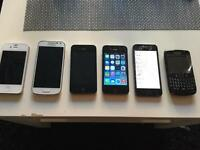Faulty joblot of phones and tablets