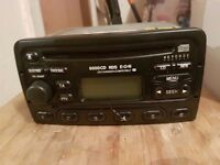 FORD MONDEO FIESTA TRANSIT FOCUS 6000CD RDS RADIO CD PLAYER WITH CODE