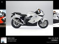 BMW k1300s..BMW r1200 adventure