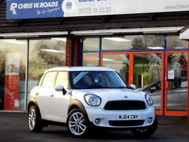 MINI COUNTRYMAN 1.6 COOPER D BUSINESS 5dr * Sat Nav * ** Bluetooth (white) 2014