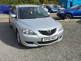 MAZDA 3 TS --1.6 DIESEL--1 YEAR MOT--FINANCE AND WARRENTY AVAILABLE