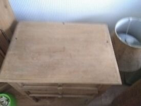 Side table with draws