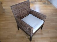 Wicker Chair - Excellent Condition