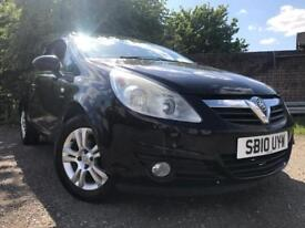 Vauxhall Corsa 1L Petrol 2010 Full Years Mot Full Service History Low Mileage Cheap Insurance Etc !!