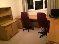 Home Office OAK Veneer Furniture for Sale