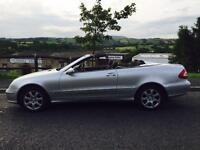 2004 Mercedes CLK 1.8 Automatic 3 Door Convertable Stunning Condition Perfect Drive PX Welcome