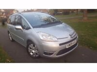 Citroen GRAND C4 PICASSO 2.0 HDi 16v Exclusive EGS 5dr Sat nav, Full Service History