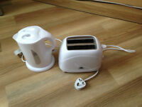 CARAVAN / MOTORHOME LOW WATTAGE KETTLE AND TOASTER