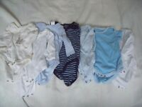 Vests plus some hats - 0 to 3 months